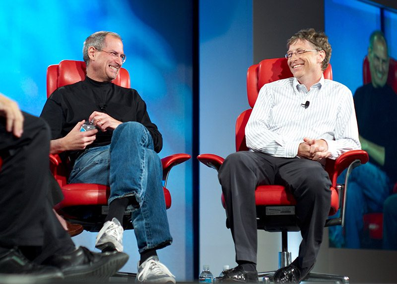 Jobs and Gates: two thought leaders
