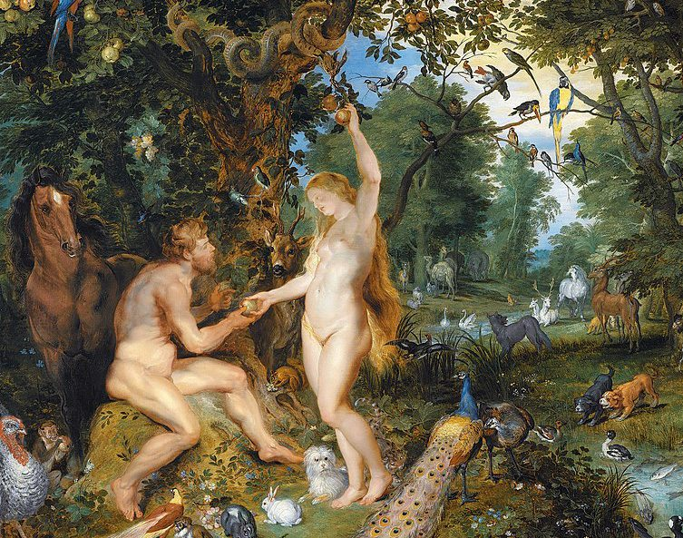 Adam and Eve by Jan Brueghel the Elder and Pieter Paul Rubens